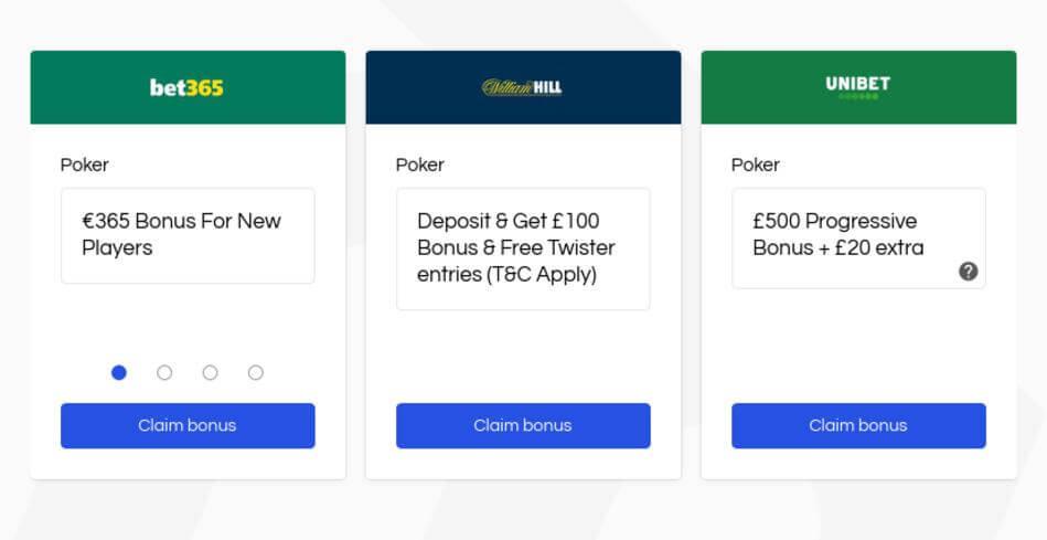 High Roller Bonuses for Poker Players
