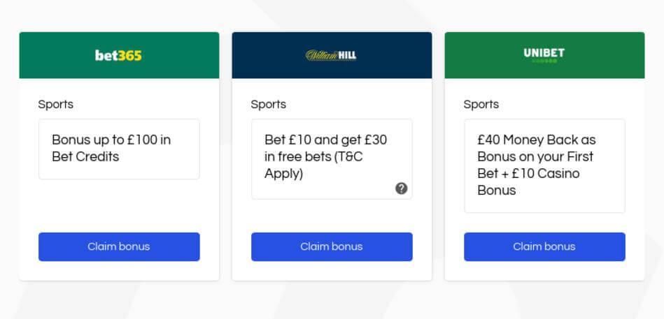 VIP UK Betting Websites